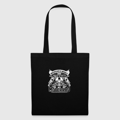 Design ancien motocycliste - Tote Bag