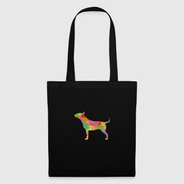Bull Terrier Multicolored - Tote Bag