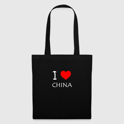 I Love China - Bolsa de tela