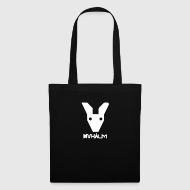 Nyhaalm mascotte, Blanc incl. Nom. - Tote Bag