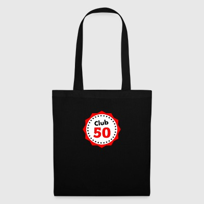 Club 50, gift for 50th birthday - Tote Bag