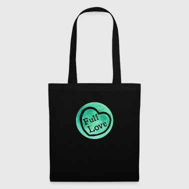 Full Moon Love (green) - Tote Bag