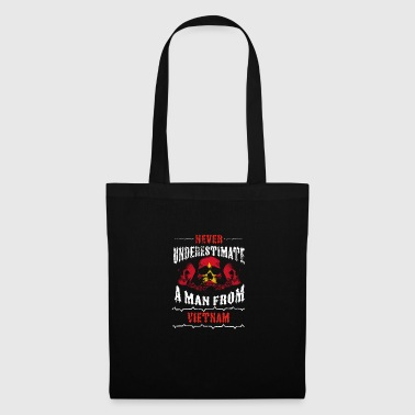 never underestimate man VIETNAM - Tote Bag