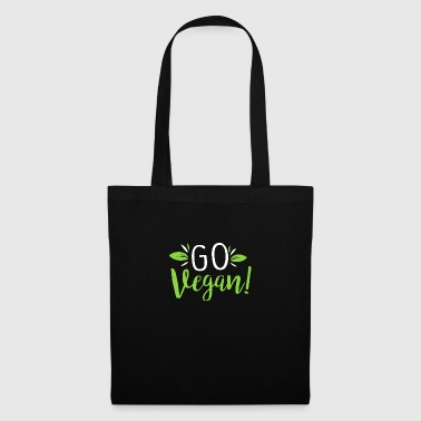 Go Vegan Become Vegan and live healthy - Tote Bag