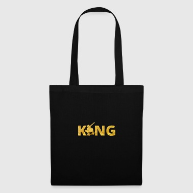 Skateboard King Gold Skater - Tote Bag