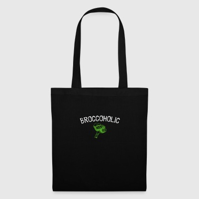 Broccoholic broccoli vegan Design - Tygväska