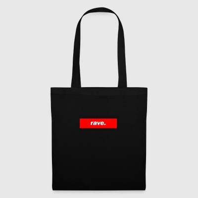 techno rave mischpult basse rouge bpm - Tote Bag