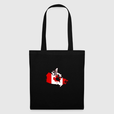 Map of Canada - Tote Bag
