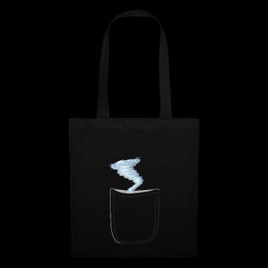 Funny realistic storm in the bag design - Tote Bag
