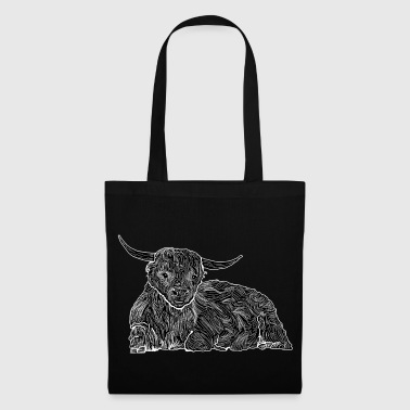 Highland cattle shirt - Tote Bag