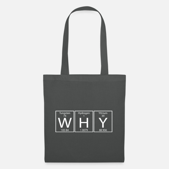 Play Bags & Backpacks - WHY - Tote Bag graphite grey