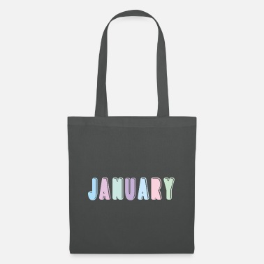 Rainbow Unicorn january - Tote Bag