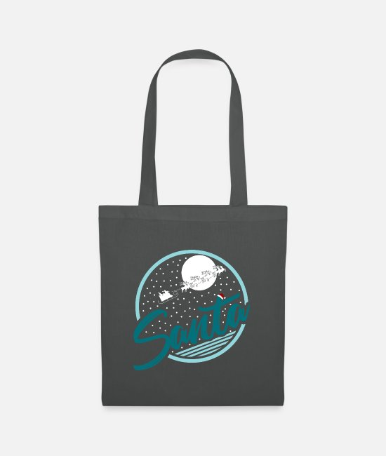 Christmas Bags & Backpacks - Merry Christmas Merry Christmas - Tote Bag graphite grey