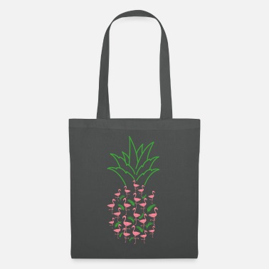 Pineapple Flamingo pineapple - Tote Bag