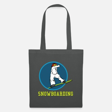 Boarders Nice Snowboard ride drawing gift gift ideas - Tote Bag