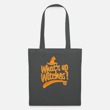 Octobre Whats up Witches Halloween Costumes graphique Funny - Sac en tissu