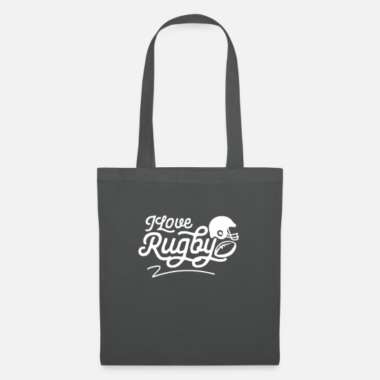 Rugby Bags & Backpacks - rugby - Tote Bag graphite grey