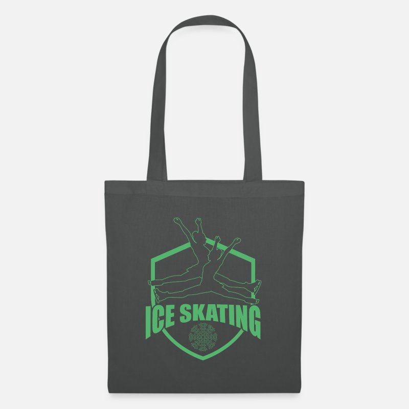 Gift Idea Bags & Backpacks - skating - Tote Bag graphite grey