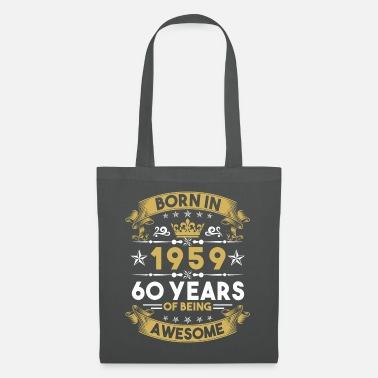 What 60th birthday 1959 sixty - Tote Bag