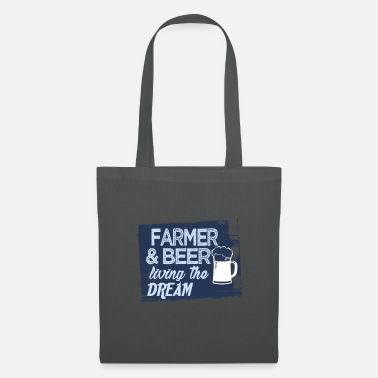 Trend Farmer & Beer live the dream - Tote Bag