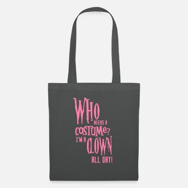 Scary Creepy disguise costume Halloween mom - Tote Bag