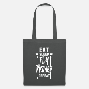 Steering Flight pilot drone pilot drones drone flying - Tote Bag