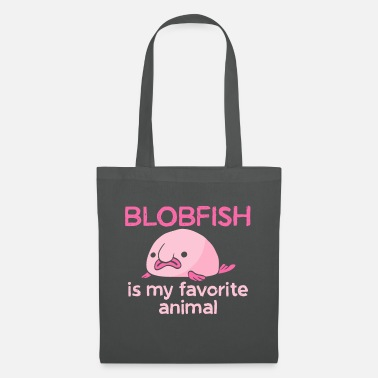 Hilarische Blobfish Blobfish Gifts Blob Fish Birthday Favoriete vis - Stoffentas