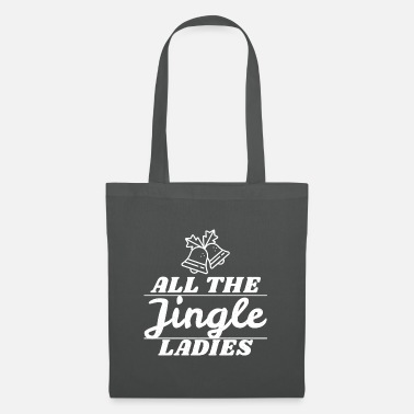Conceptions De Noël Noël Père Noël Noël Jingle Ladies - Sac en tissu