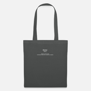 Description Humor (with description) - Tote Bag