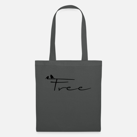 Gift Idea Bags & Backpacks - Free - Tote Bag graphite grey