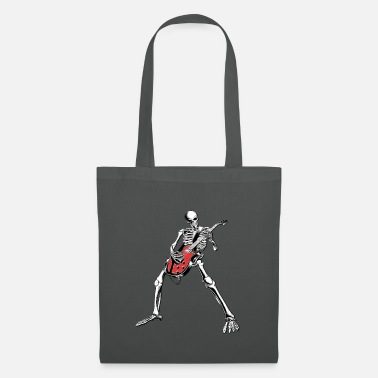 Skull Skelleton Guitar - Tote Bag