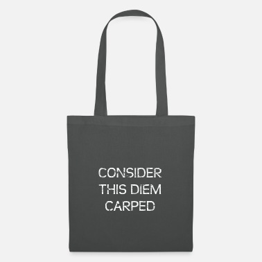 Carpe Diem consider this DIEM CARPED - Tote Bag