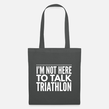 Swim Bike Run Triathlon triathlete swim running gift - Tote Bag