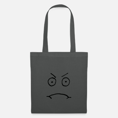 Bad Look Bad look, cartoon face, emoji - Tote Bag