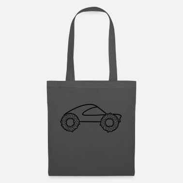 Autonaut car donut monster truck raeder fast driving ess - Tote Bag