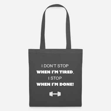 Fitness weightlifter - Tote Bag