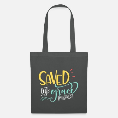 Carri Rescued from faith Jesus bible verse quote saying - Tote Bag
