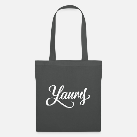 What Bags & Backpacks - Yanny / Laurel - Tote Bag graphite grey