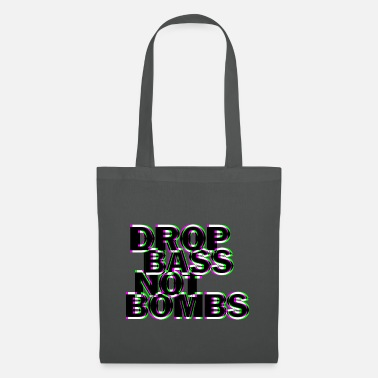 Techno Bass Techno drop bass non bombe - Borsa di stoffa