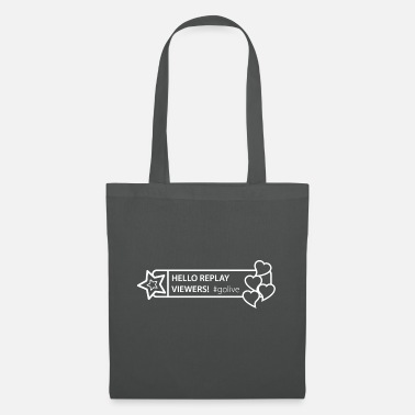 Hello replay viewers - Social Media GoLive - Tote Bag