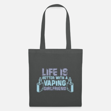 Relationship Gift Vaper E-Cigarette Girlfriend - Tote Bag