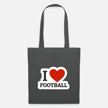 Offence I love football I love rugby american football - Tote Bag