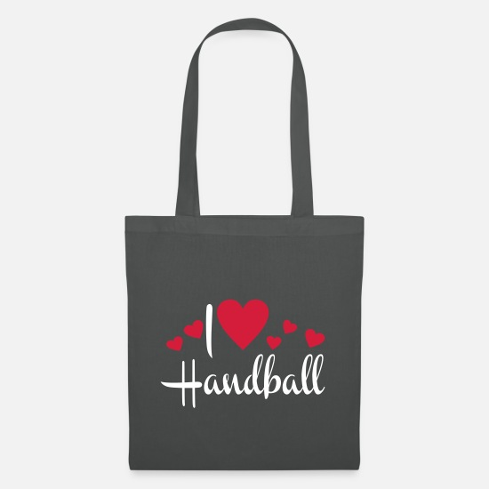 Handball Player Bags & Backpacks - handball - Tote Bag graphite grey