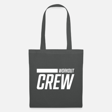 Body Building workout crew stroke - Tote Bag