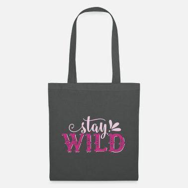 Typo Collection V2 Stay Wild - Tote Bag