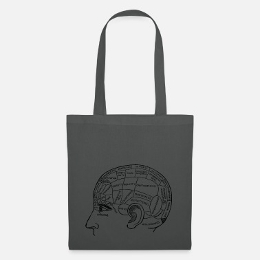 Anatomy Brain Brain, anatomy, drawing, medical - Tote Bag