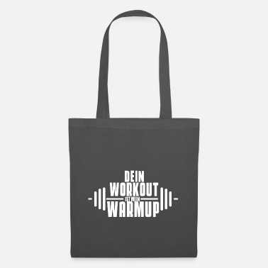 Workout white - Tote Bag