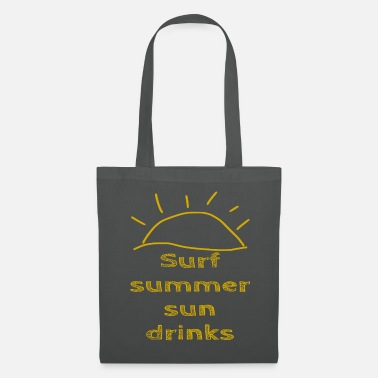 Stylish Surf Summer Sun drinks - summer - Tote Bag