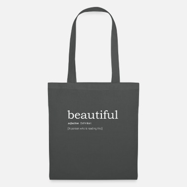beautiful definition - Tote Bag