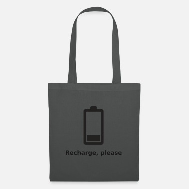 Rechargeable Recharge please - Tote Bag